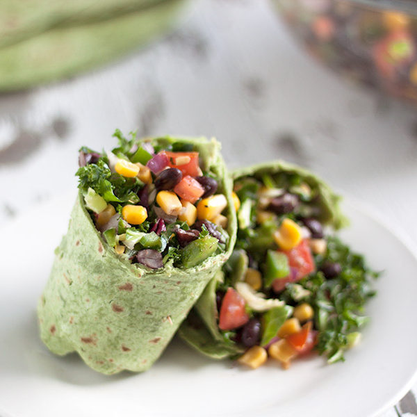Brussel-Sprouts-Kale-Black-Bean-Salsa-Spinach-Wrap2
